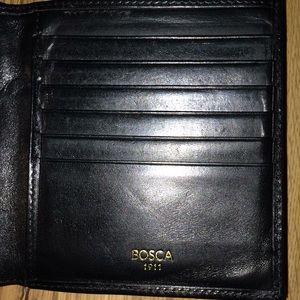 Bosca 1911 men's leather wallet